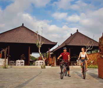 villa in ubud Entrance 001