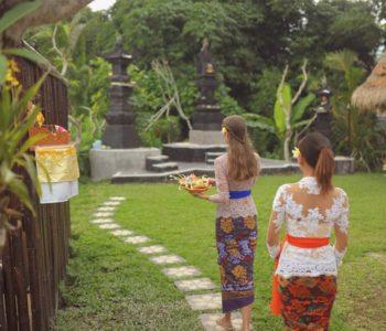 villa in ubud Garden 001