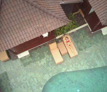villa in ubud Poolbar 002