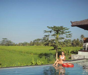 villa in ubud Poolbar 005